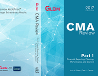 CMA Book Cover Design