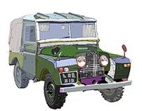 Code Computer Love job. Land Rover Defender Series 1