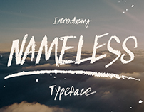 Nameless typeface