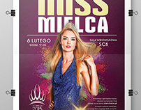 Poster | Miss Mielca 2015 (official poster)