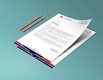 Brand Stationary (B card+Letterhead+Envelope)