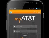 AT&T app design