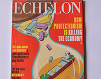 Echelon Magazine Cover: April 2018