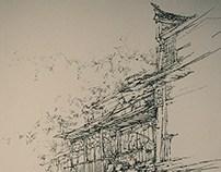 速写 户外写生(2010)