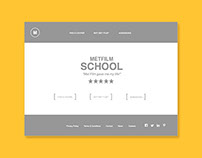 UX for MetFilm School Website