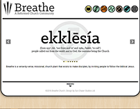 Breathe Worship Center - website