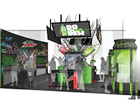 Mountain Dew Store-In-Store