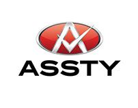 ASSTY, Automotive parts company, brand logo