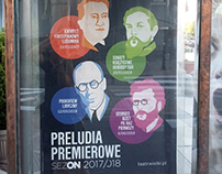 NATIONAL OPERA WARSAW/Poland: Portrait Illustrations