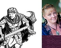Commission: The Watch rpg Backer Portraits 01