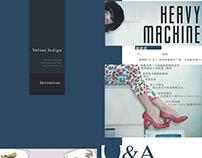 Velvet Indigo Graphic Design