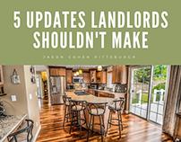 5 Updates Landlords Shouldn't Make