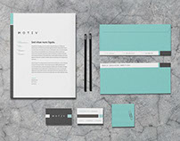 Motiv - Stationery Template