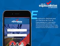 App Club de Especialistas en Lubricación