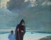 """""""Ascension"""" oils canvas 145x184"""