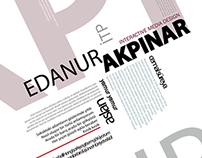 Tipografik Poster