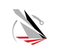 GAETANO MURA SOLO ROUND THE GLOBE RECORD - Logo Design
