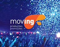 Marca Produtora de Eventos: Moving