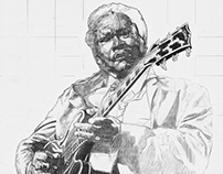 B.B. King - in progress