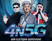 Türk Telekom 4N5G - A Communication Journey