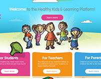Web design - elearning platform