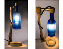 Recycled Lamp 2