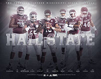 2015 Mississippi State Football Poster
