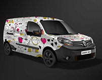 Free Mock-up Renault Kangoo Maxi
