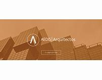 Página Web AEDIS / Arquitectos