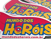 Logotipo: Mundo dos Heróis Loja Virtual