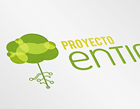 Logo design_ Entic Project