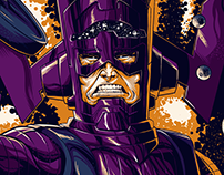 Tshirt - Galactus - Detph Before Dishonor Squat Co.