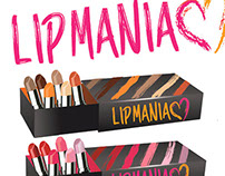 LIPMANIAC LIPSTICK BRAND AND PACKAGING DESIGN