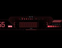 Speed O Meter Cyberpunk Vehicle Concept