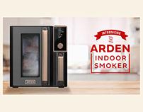 ARDEN | Indoor Smoker Branding, Identity, Design