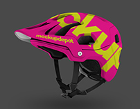 4K Mountain Bike Helmet PSD mockup by Mockup Depot