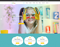 Multipurpose Business WordPress Theme for Pre-School