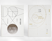Cover Design of Beyond Limits & Born Perfect