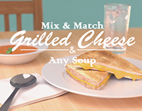 Grilled Cheese and Any Soup