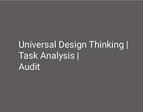 Universal Design Research
