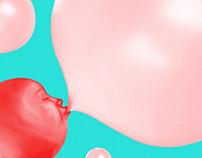 Chupa Chups - Bubblegum Lollipop