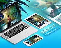 DIRECTV Cinema Guide — Multiplatform Website
