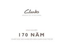 Clarks_Brochure 170 Năm kinh nghiệm cho đôi chân trẻ