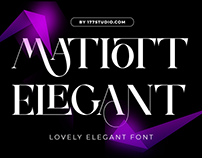 Free Font - Matiott