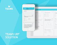 TEAMS UBT UI/UX Design