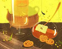 Tea calendar '17