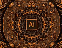 My Adobe Mandalas