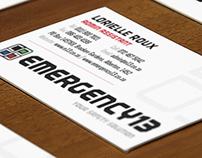 Emergency13 Rebrand