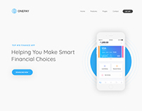 Onepay - Mobile Landing Page