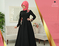 E-commerce abayas collection